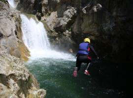 Canyoning - adrenaline and fun for your stag do